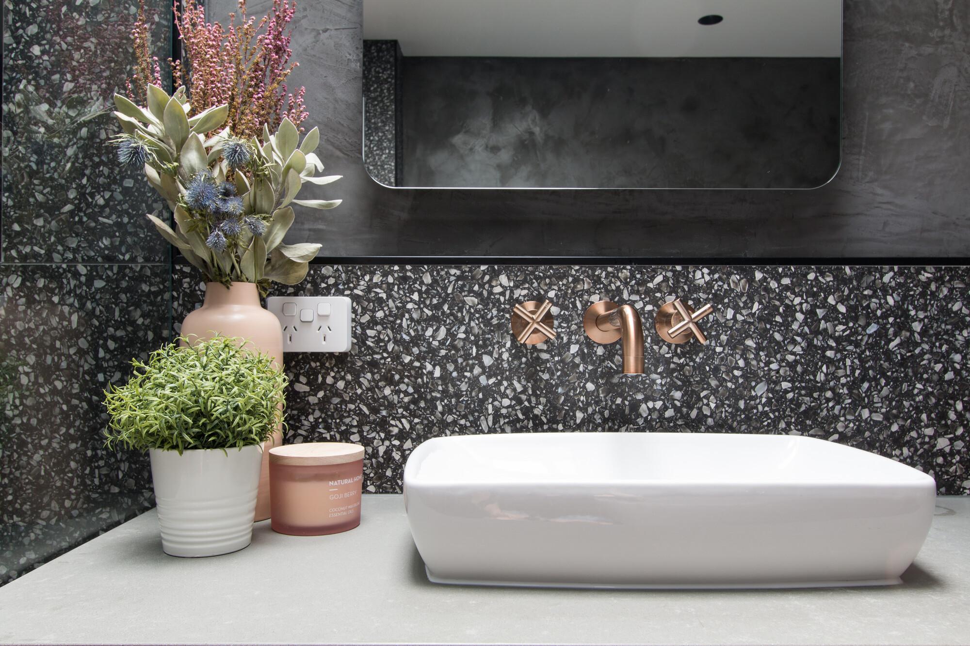 Ein neues Badezimmer, mit nur kleinen Veränderungen